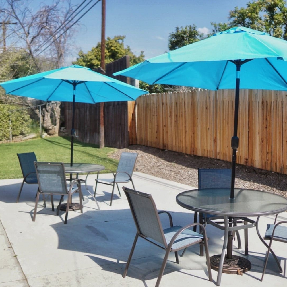 Blossom Valley Oasis | Assisted Living Home | 975 Asbury Ave, Pomona, CA 91767 | Back Yard Business View