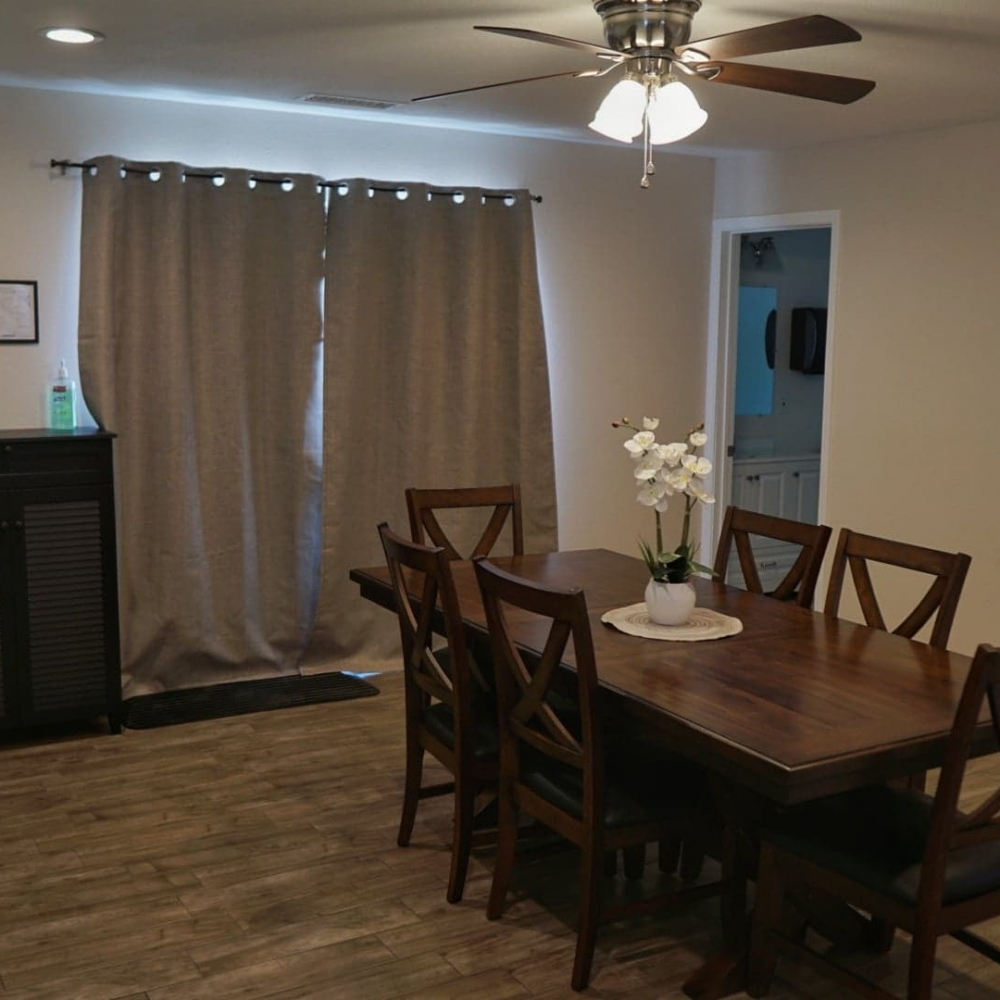 Blossom Valley Oasis | Assisted Living Home | 975 Asbury Ave, Pomona, CA 91767 | Dining Room View