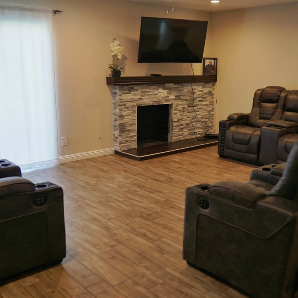 Blossom Valley Oasis | Assisted Living Home | Front Room Business View